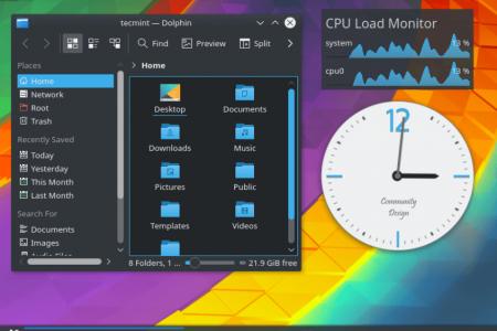 Как установить KDE Plasma в...