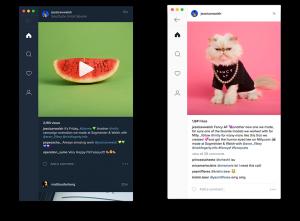 Instagram в Linux с неофициальным клиентом Ramme